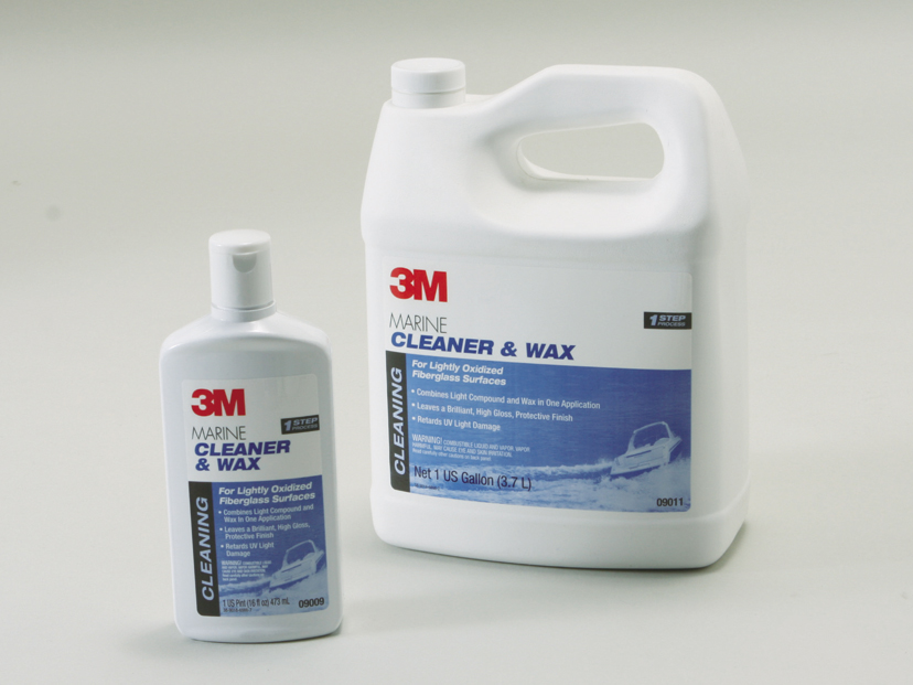 3M CLEANER AND WAX